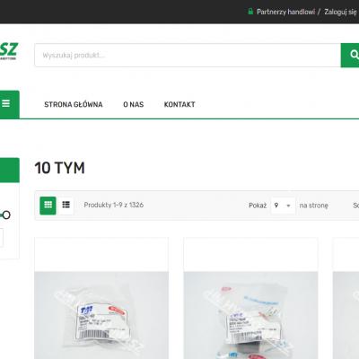 Firma HYDRO-MASZ oficjalnie Centralnym Magazynem Części marki TYM w Europie